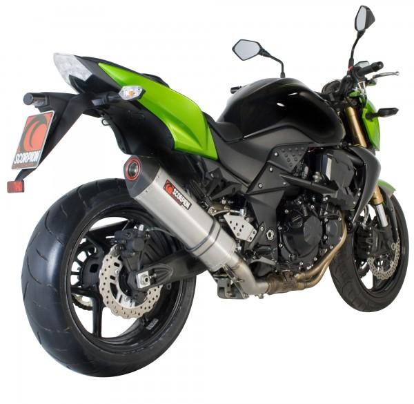Scorpion Serket Parallel Auspuff für Kawasaki Z 750 2007-2012 Motorräder