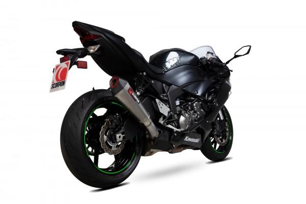 Scorpion Serket Taper Auspuff für Kawasaki Ninja ZX 6 R / 636 2019-2020 Motorräder