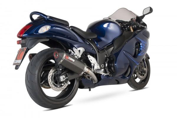 Scorpion Serket Parallel Auspuff für Suzuki GSX 1300 R Hayabusa 2008-2016 Motorräder