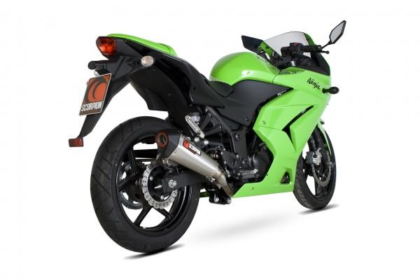 Scorpion Serket Taper Auspuff für Kawasaki Ninja 250R 2008-2012 Motorräder