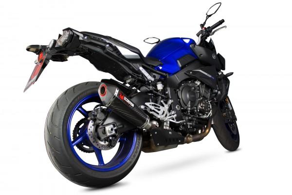 Scorpion Serket Taper Auspuff für Yamaha MT-10 2016-2017 Motorräder