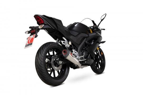 Scorpion Serket Taper Komplettanlage für Yamaha YZF R 125 / R 15 2019-2020 Motorräder