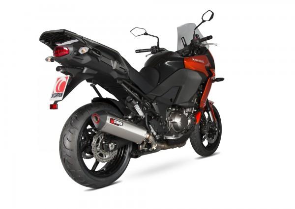 Scorpion Serket Parallel Auspuff für Kawasaki Versys 1000 Grand Tourer 2015-2018 Motorräder
