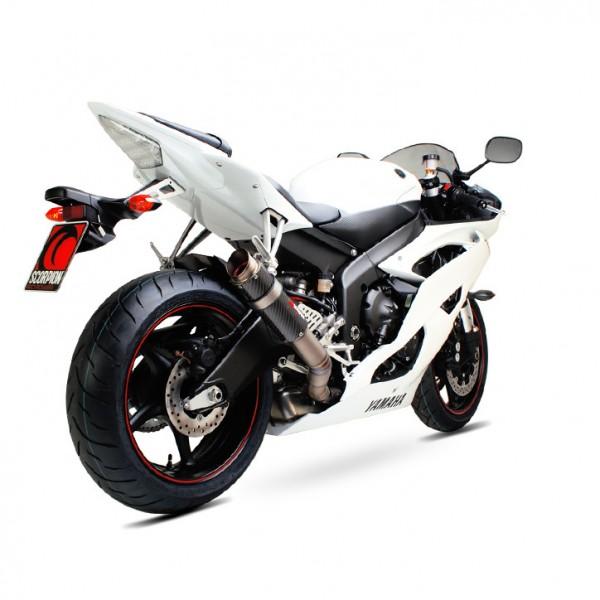 Scorpion RP-1 GP Auspuff für Yamaha YZF R6 2006-2016 Motorräder