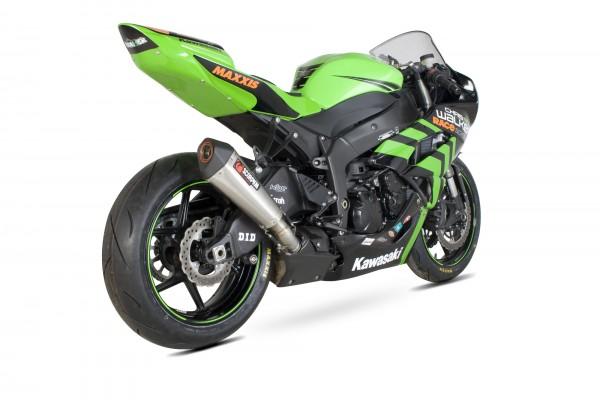 Scorpion Serket Taper Auspuff für Kawasaki Ninja ZX 6 R 2009-2012 Motorräder
