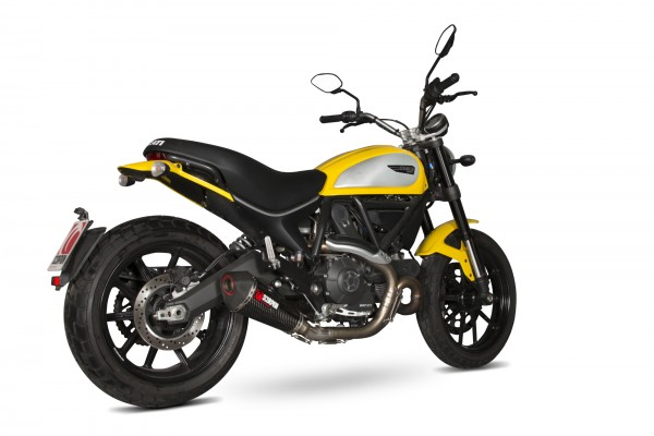 Scorpion Serket Taper Auspuff für Ducati Scrambler 2015-2016 Motorräder