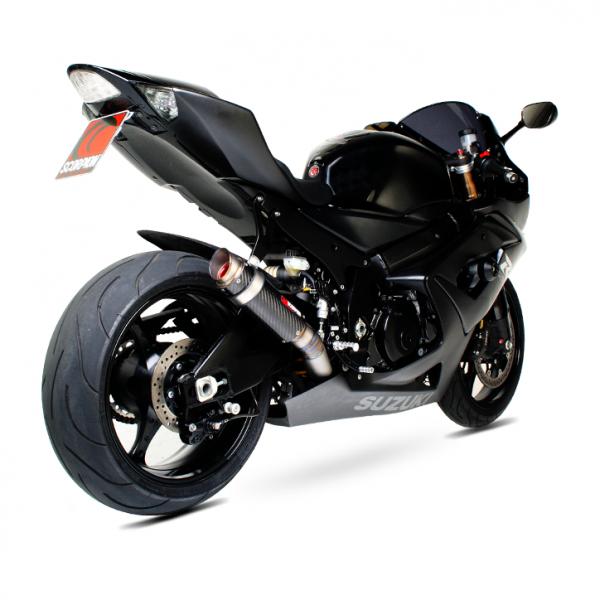 Scorpion RP-1 GP Auspuff für Suzuki GSX R 1000 2005-2006 Motorräder