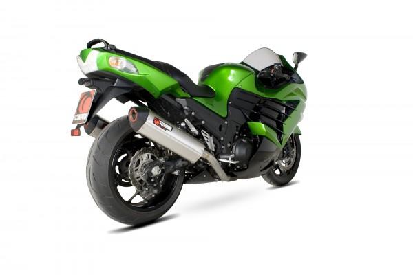 Scorpion Serket Parallel Auspuff für Kawasaki ZZR 1400 2012-2016 Motorräder