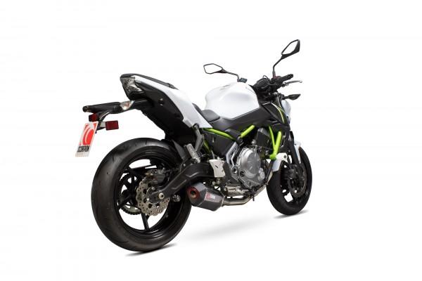 Scorpion Serket Komplettanlage in für Kawasaki Z 650 2017- Motorräder