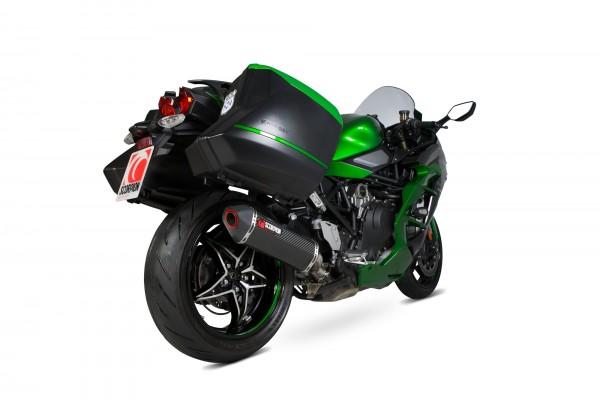 Scorpion Serket Parallel Auspuff für Kawasaki Ninja H2-SX/SE 2018- Motorräder