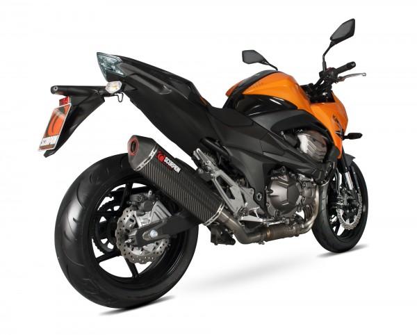 Scorpion Serket Parallel Auspuff für Kawasaki Z 800 E 2013-2016 Motorräder