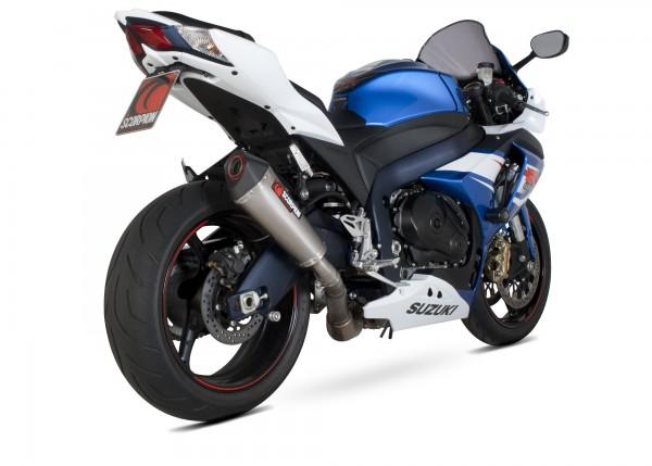 Scorpion Serket Taper Auspuff für Suzuki GSX R 1000 2012-2016 Motorräder