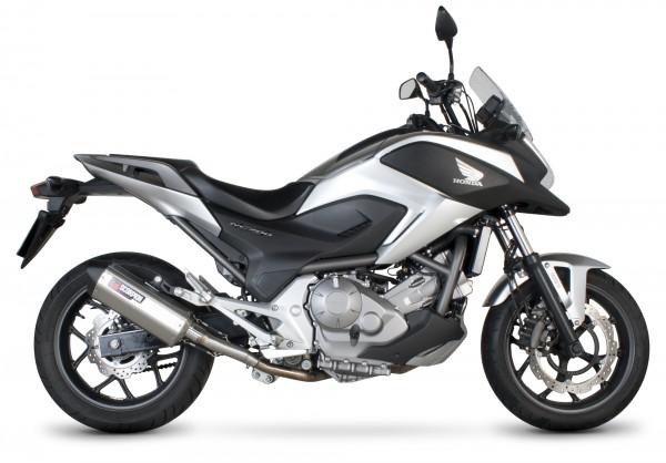 Scorpion Serket Parallel Auspuff für Honda NC 700 X 2012-2013 Motorräder