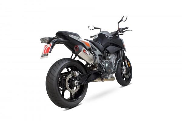 Scorpion Serket Parallel Auspuff für KTM Duke 790 2018- Motorräder