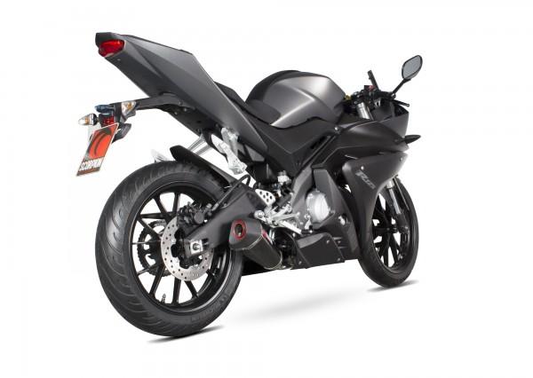 Scorpion Serket Endtopf mit Krümmeranlage in für Yamaha YZF R 125 2014-2016 Motorräder