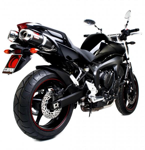 Scorpion Factory Auspuff für Yamaha FZS 600 Fazer 2004-2006 Motorräder