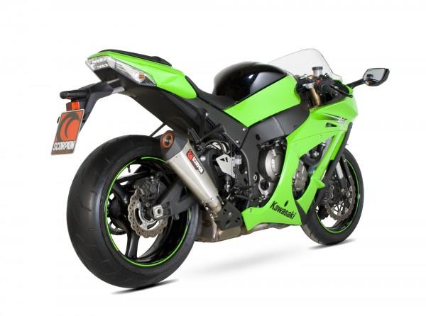 Scorpion Serket Taper Auspuff für Kawasaki Ninja ZX 10 R 2011-2015 Motorräder
