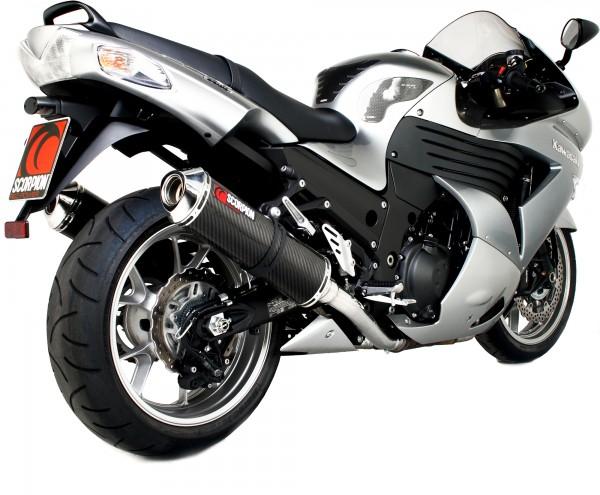 Scorpion Factory Auspuff für Kawasaki ZZR 1400 2008-2011 Motorräder