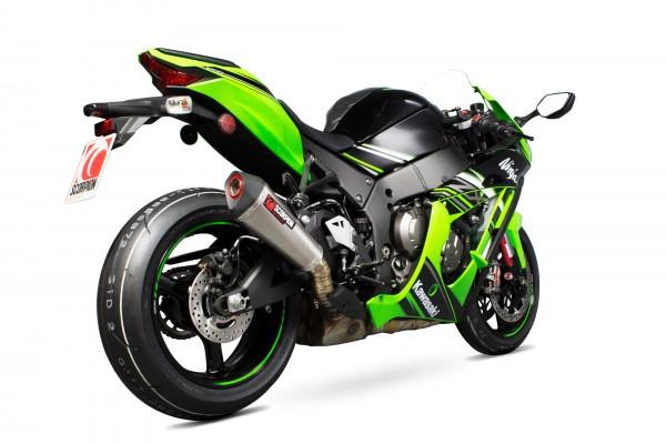Scorpion Serket Taper Auspuff für Kawasaki Ninja ZX 10 R 2016-2020 / RR 2017-2020 / R SE 2018-2020