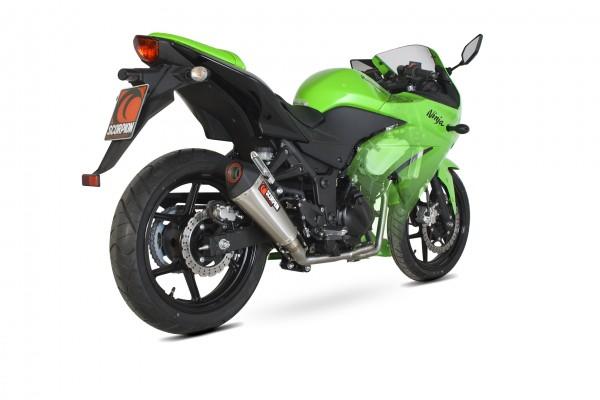 Scorpion Serket Taper Komplettanlage für Kawasaki Ninja 250R 2008-2012 Motorräder