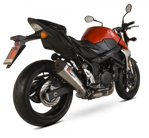 Scorpion Serket Taper Auspuff für Suzuki GSR 750 2011-2016 Motorräder