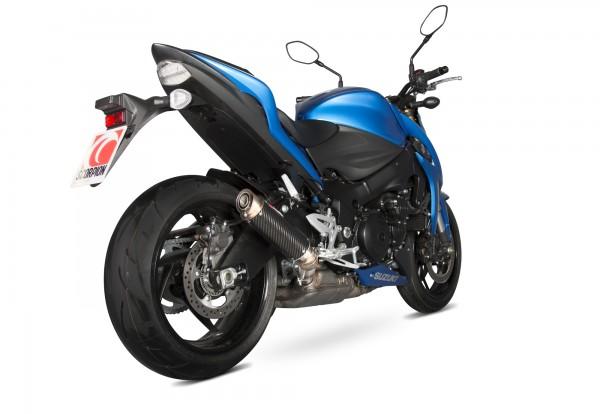 Scorpion RP-1 GP Auspuff für Suzuki GSX S 1000 F 2015-2020 Motorräder