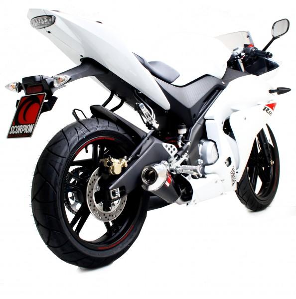Scorpion Power Cone Auspuff für Yamaha YZF R 125 2008-2013 Motorräder