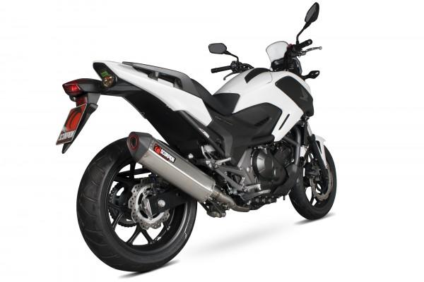 Scorpion Serket Parallel Auspuff für Honda NC 750 X 2014-2016 Motorräder