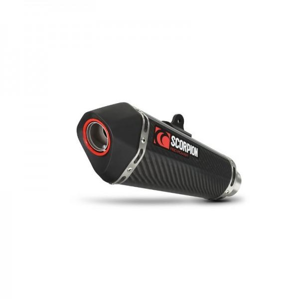 Scorpion Serket Taper Auspuff für Suzuki GSXR 1000 2009-2011 Motorräder