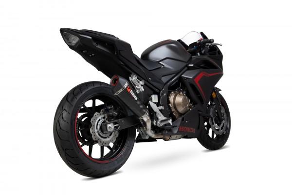 Scorpion Serket Taper Auspuff für Honda CBR 500 R 2019- Motorräder carbon