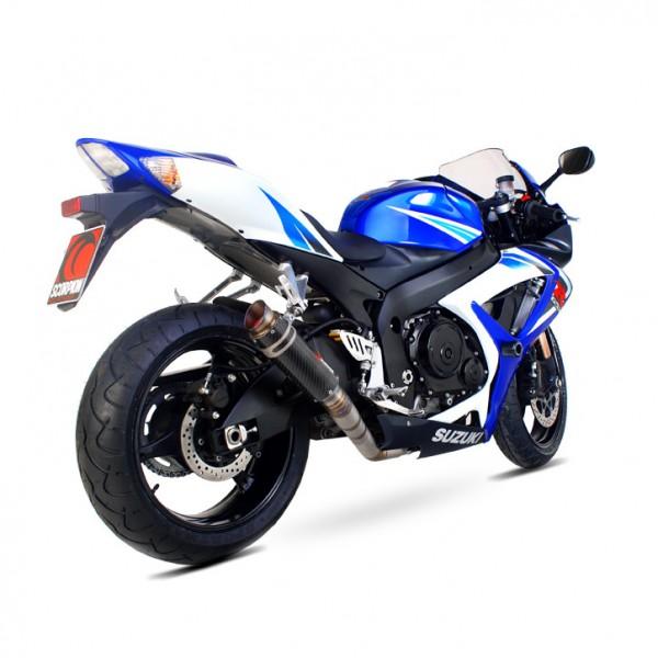 Scorpion RP-1 GP Auspuff für Suzuki GSXR 750 2006-2007 Motorräder