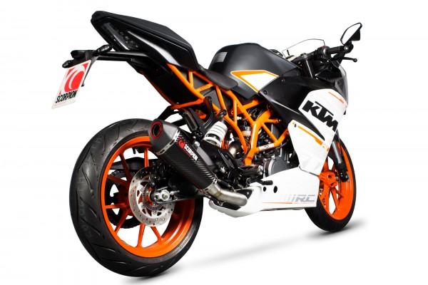 Scorpion Serket 3/4 System in für KTM RC 390 2014-2016 Motorräder