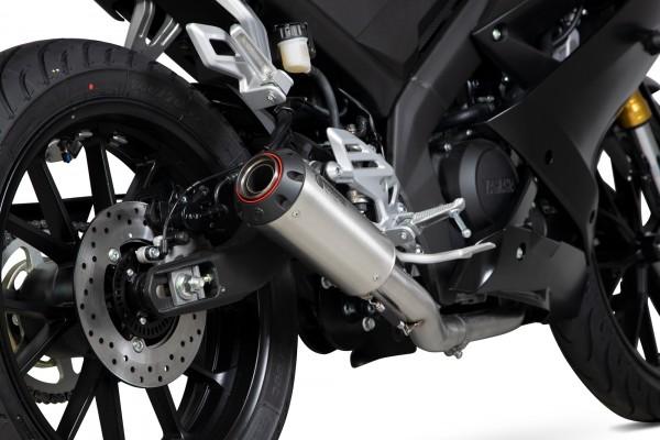 Scorpion Red Power Komplettanlage für Yamaha YZF R 125 / R15 2019- Motorräder