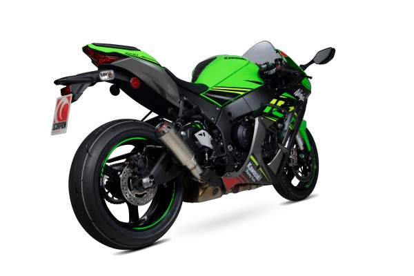 Scorpion Red Power Auspuff für Kawasaki Ninja ZX 10 R 2016-2020 / RR 2017-2020 / R SE 2018-2020
