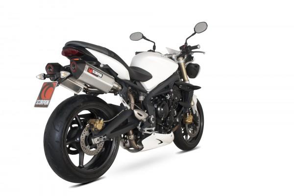 Scorpion Serket Parallel Auspuff für Triumph Street Triple 675 2007-2012 Motorräder