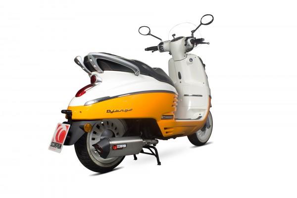 Scorpion Endtopf Für Dein Peugeot Django 125 2017 Motorrad