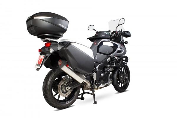 Scorpion Serket Parallel Auspuff für Suzuki V Strom 1000 2014-2016 Motorräder