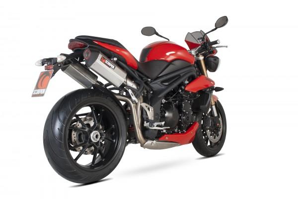 Scorpion Serket Parallel Auspuff für Triumph Speed Triple 1050 2011-2015 Motorräder