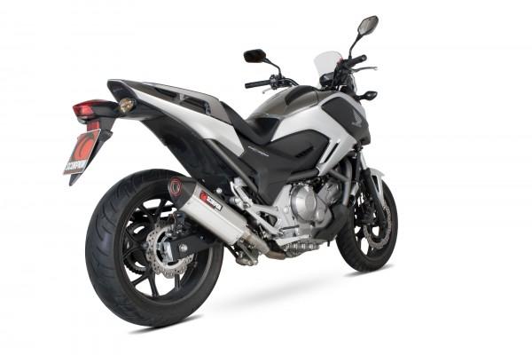 Scorpion Serket Parallel Auspuff für Honda NC 700 S / X 2012-2013 Motorräder