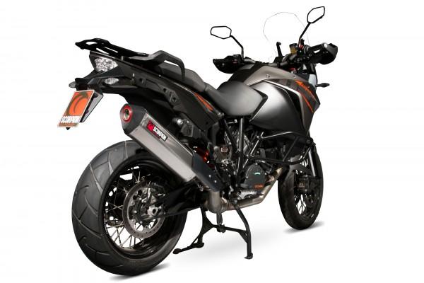 Scorpion Serket Parallel Auspuff für KTM Adventure 1190 2013- Motorräder