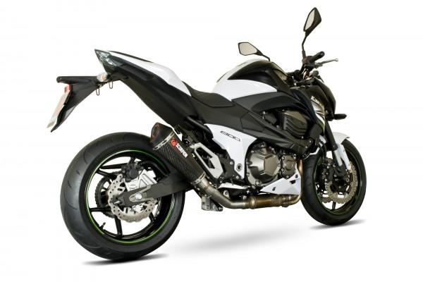 Scorpion Serket Taper Auspuff für Kawasaki Z 800 2013-2016 Motorräder