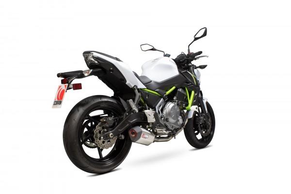 Scorpion Serket Parallel Komplettanlage für Kawasaki Z 650 2017-2019 Motorräder