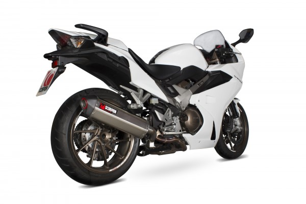 Scorpion Serket Parallel Auspuff für Honda VFR 800 F 2014-2016 Motorräder