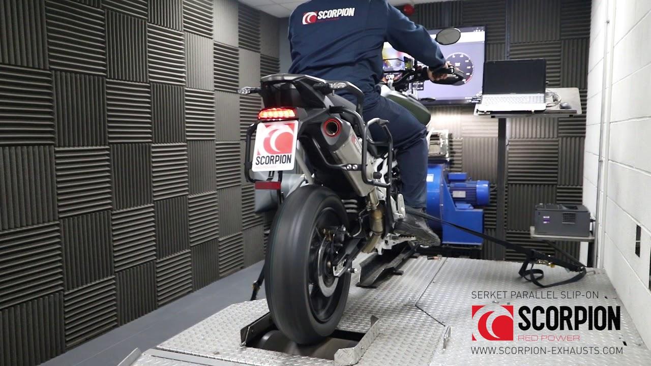 Scorpion Serket Parallel Auspuff für Triumph Tiger 900 2020-2021 Motorräder
