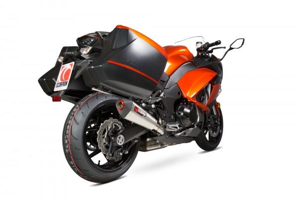 Scorpion Serket Taper Auspuff für Kawasaki Z 1000 SX 2014-2016 Motorräder