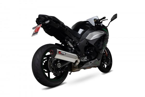 Scorpion Serket Taper Auspuff für Kawasaki Ninja 1000 SX 2020- Motorräder