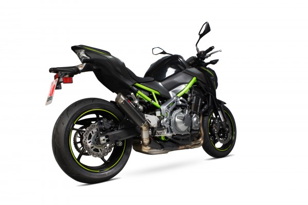 Scorpion RP-1 GP Auspuff für Kawasaki Z 900 2017- Carbon