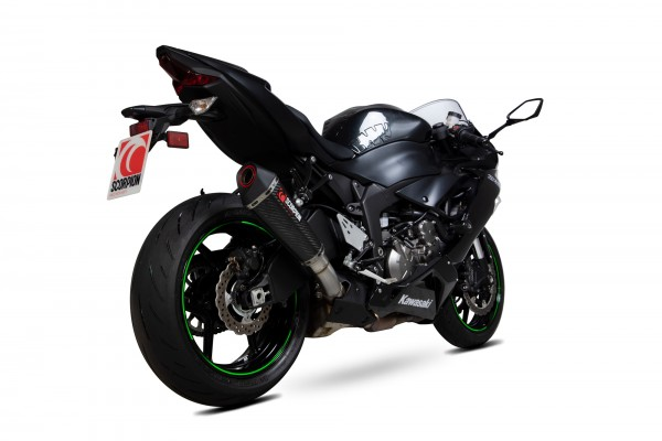 Scorpion Serket Taper Auspuff für Kawasaki Ninja ZX-636