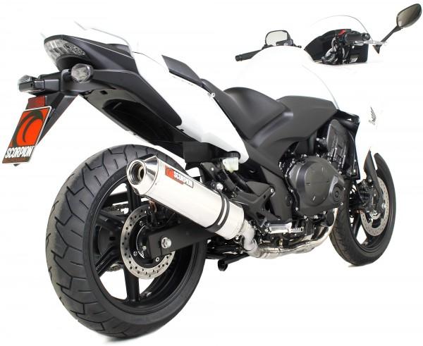 Scorpion Factory Auspuff für Honda CBF 1000 2010-2016