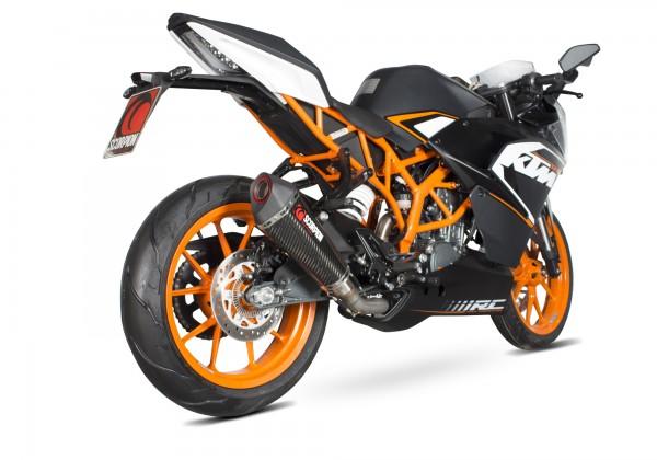 Scorpion Serket Taper Auspuff für KTM RC 125 2013-2016 Motorräder
